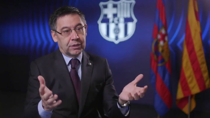 Bartomeu quiere renovar a Messi de por vida