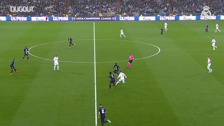 Eden Hazard's Impressive Performance Vs PSG