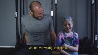 Aksel Lund Svindal i rørende film for Barnekreftforeningen