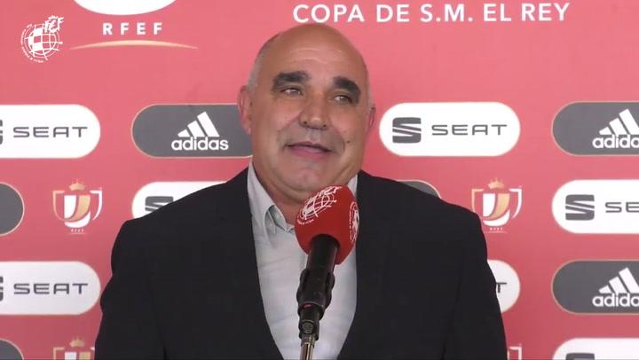 Euforia entre los representantes de los equipos modestos una vez conocidos los emparejamientos para la Copa Del Rey