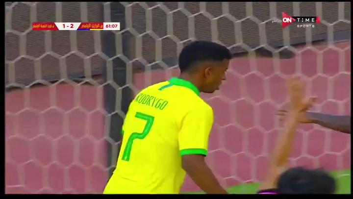 El madridista Rodrygo marcó con Brasil ante Corea del Sur