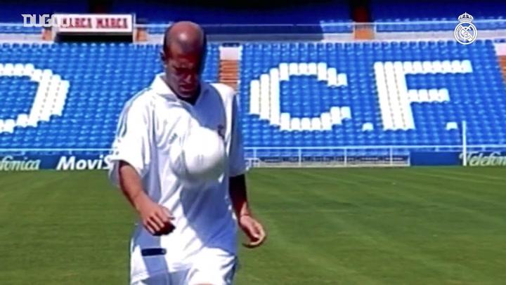 Golaços de Zidane pelo Real Madrid
