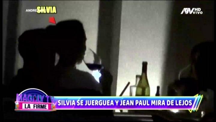 Silvia Cornejo se divierte de lo lindo con sus amigos y su ex Jean Paul Gabuteau solo miró desde lejos | VIDEO