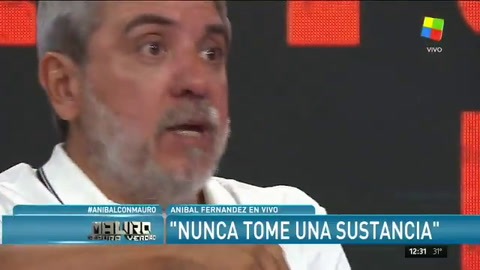 Aníbal Fernández se quejó: Cristina nunca me bancó en público