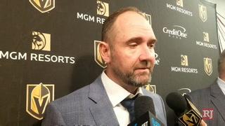 Golden Knights coach talks about defenseman Nic Hague – VIDEO