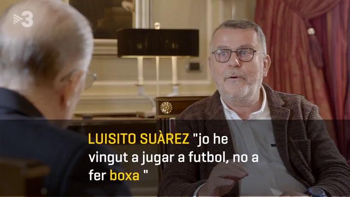 Luisito Suárez protagonista del programa de Lluís Canut