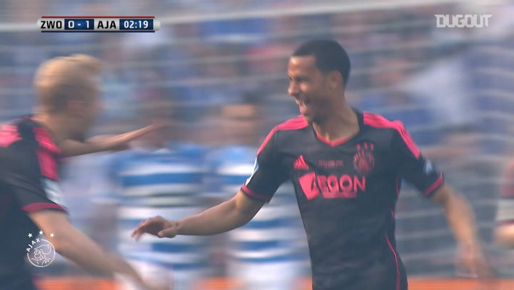 Ricardo van Rhijn's thunderbolt strike vs PEC Zwolle