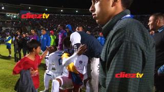 La tristeza de los jugadores del Olimpia tras perder la final ante Motagua