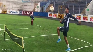 Motagua entrena en el Estadio Nacional pensando en Platense