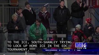 Boys Hockey: Central rolls South-Shanley