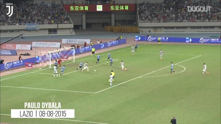 Dybala, Pogba, Chiellini, Davids ve Baggio'nun Juventus Formasıyla İlk Golleri