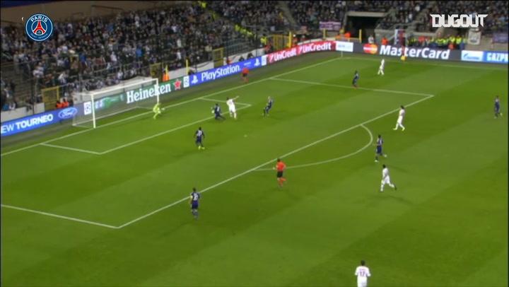 Los mejores goles de taco del PSG