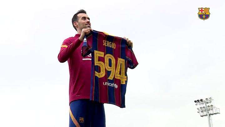 "Sergio Busquets: ""Es un orgullo"""