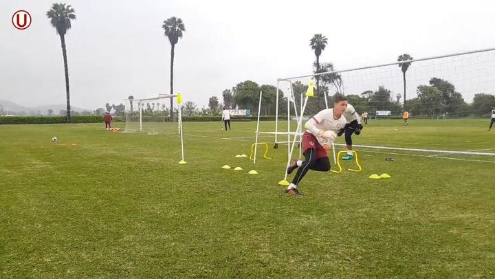 Hard At Work With Club Universitario