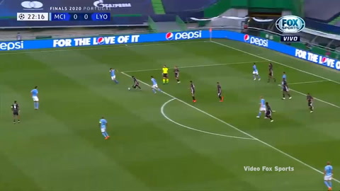 Gol de Maxwel Cornet al Manchester City (Champions League 2020)