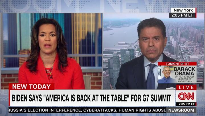 CNN's Zakaria: World Prefers 'Boring' Biden G7 Pressers, Not Trump's 'Circus Freak Show'