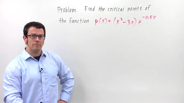 Critical Points - Problem 2