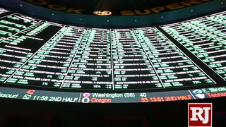 Bettors line up for Super Bowl prop bets at Westgate