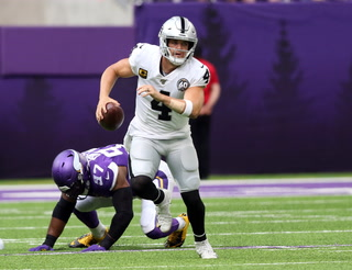 Raiders lose to the Vikings, Fall To 1-2 on the Season – VIDEO