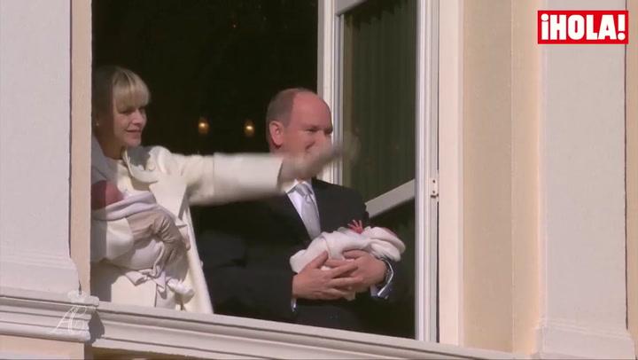 Las espectaculares imágenes de la presentación oficial de los príncipes Jacques y Gabriella de Mónaco