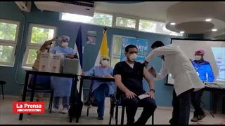 Inicia vacunación contra el covid-19 en personal sanitario de San Pedro Sula