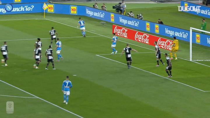 Napoli Juventus'u Geçerek 2020 Coppa Italia Şampiyonu Oluyor