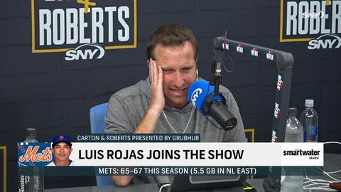 Luis Rojas describes pregame team meeting before Tuesday's doubleheader