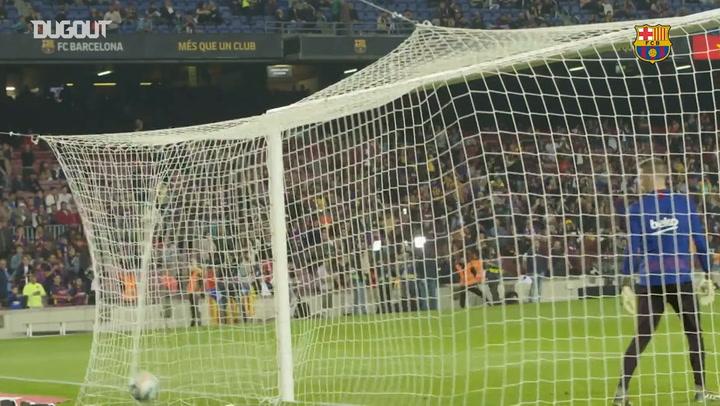 Best Barça warm-up goals