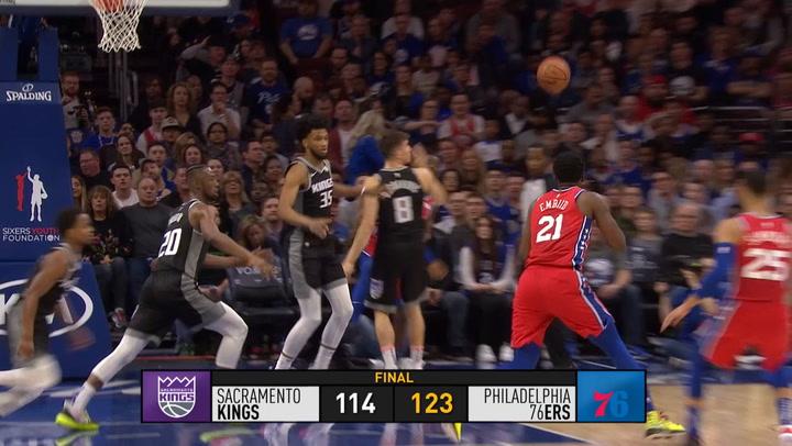 Resumen de la jornada de la NBA del 16 de marzo de 2019