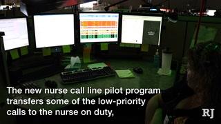 Nurse call pilot program