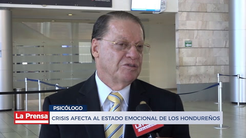 Crisis afecta al estado emocional de los hondureños