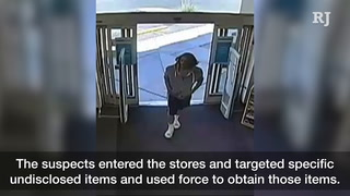 Las Vegas police looking for robbery suspects