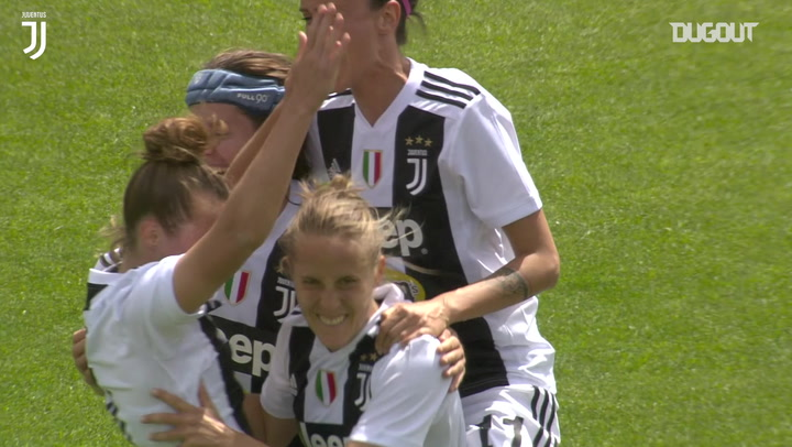 El golazo de Valentina Cernoia en la final de la Coppa Italia