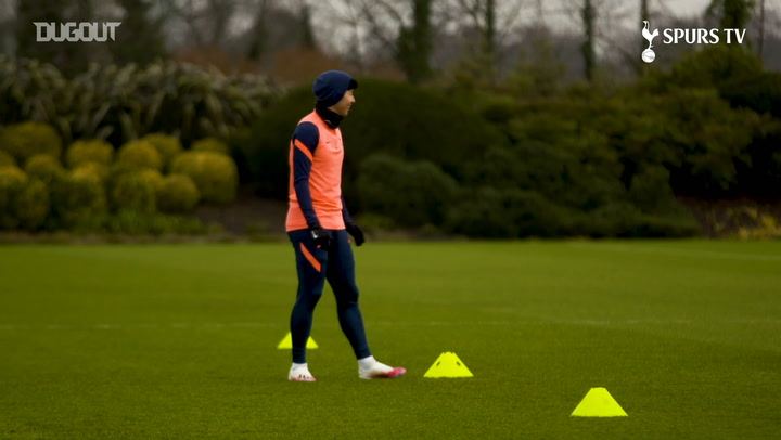 Spurs put in final preparations ahead of Liverpool clash