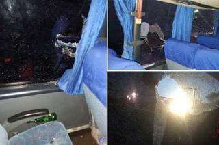 Motagua publica video del ataque a su autobús por aficionados del Olimpia