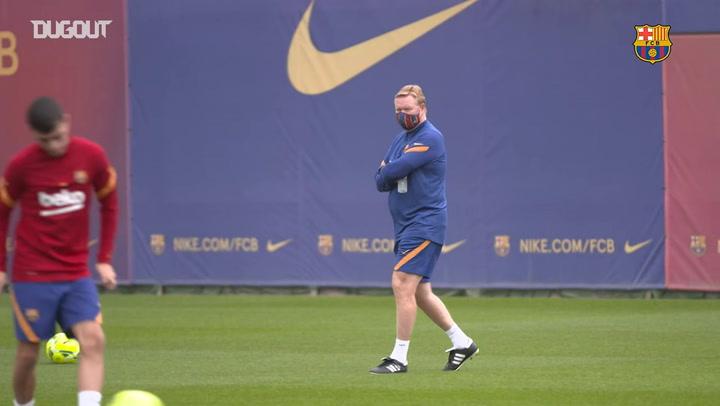 El FC Barcelona inicia las preparaciones para El Clásico