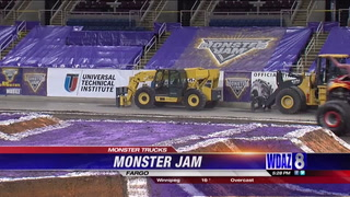 Monster Jam to take over Fargodome this weekend
