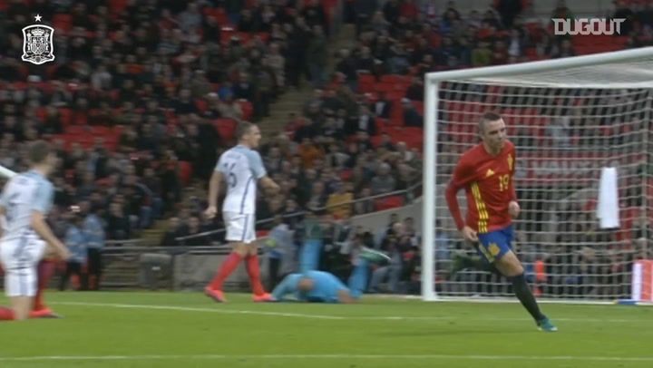 Iago Aspas's best moments with the Spanish national team