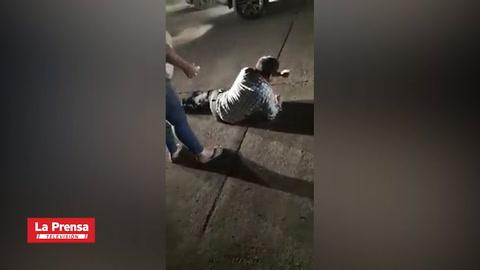 Atacan a balazos a reconocido abogado en avenida la Republica de La Ceiba
