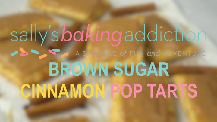 Homemade Frosted Brown Sugar Cinnamon Pop Tarts