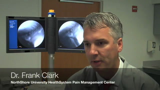 Dr. Clark discusses pain management options and the NorthShore Pain Management Center.