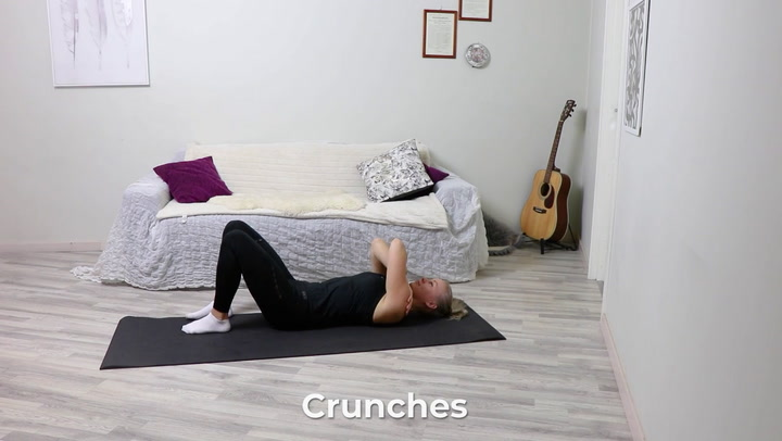 4. Crunches