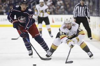 Golden Edge: Knights Fall 4-1 To Blue Jackets