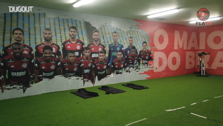 Behind the scenes of Flamengo's victory over Fortaleza