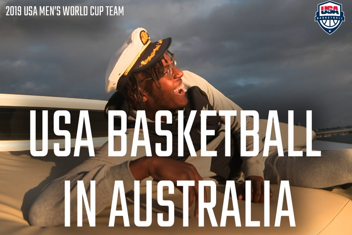 USA Men's National Team Sydney Travel Video