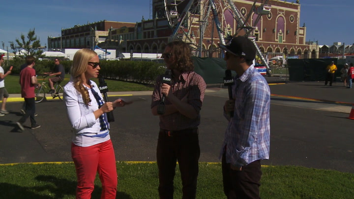 Incubus Reveal Plans to Steal Iron Maiden's Sets: #TBT 2012