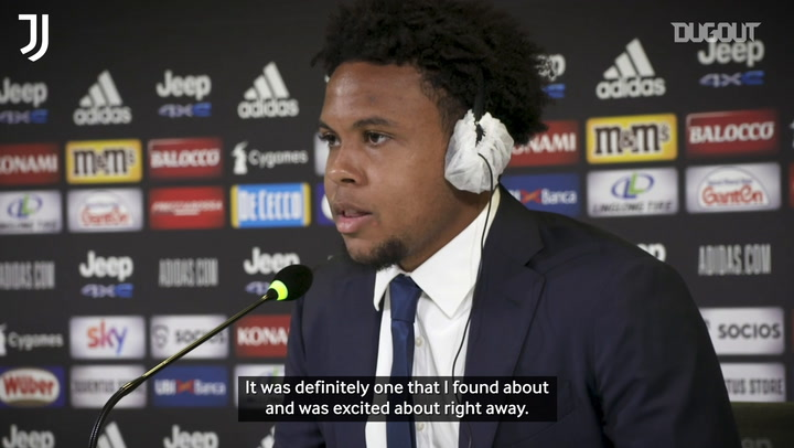 McKennie: 'I couldn't turn down Juventus switch'