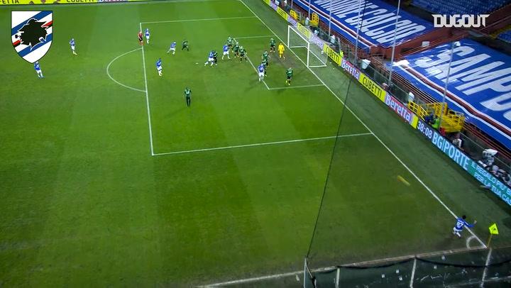 Keita Balde's first goal at Sampdoria