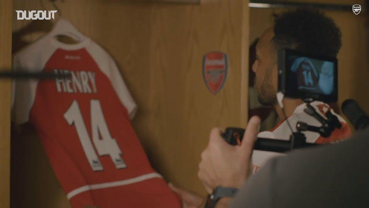 Behind the scenes as Aubameyang signs new Arsenal contract
