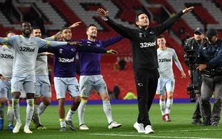 El Machester United fue eliminado de la Copa por el Derby County de Frank Lampard